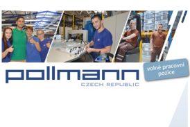 Pollmann CZ – volné pracovní pozice: MISTR VE VÝROBĚ, VÝROBNÍ DĚLNÍK