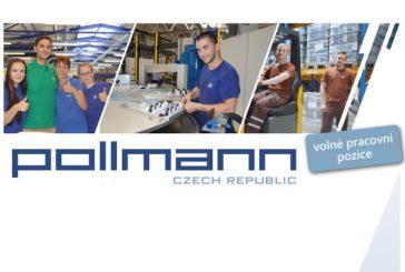 Pollmann CZ – volné pracovní pozice: VÝROBNÍ DĚLNÍK, SEŘIZOVAČ VSTŘIKOVACÍCH LISŮ a NÁSTROJAŘ