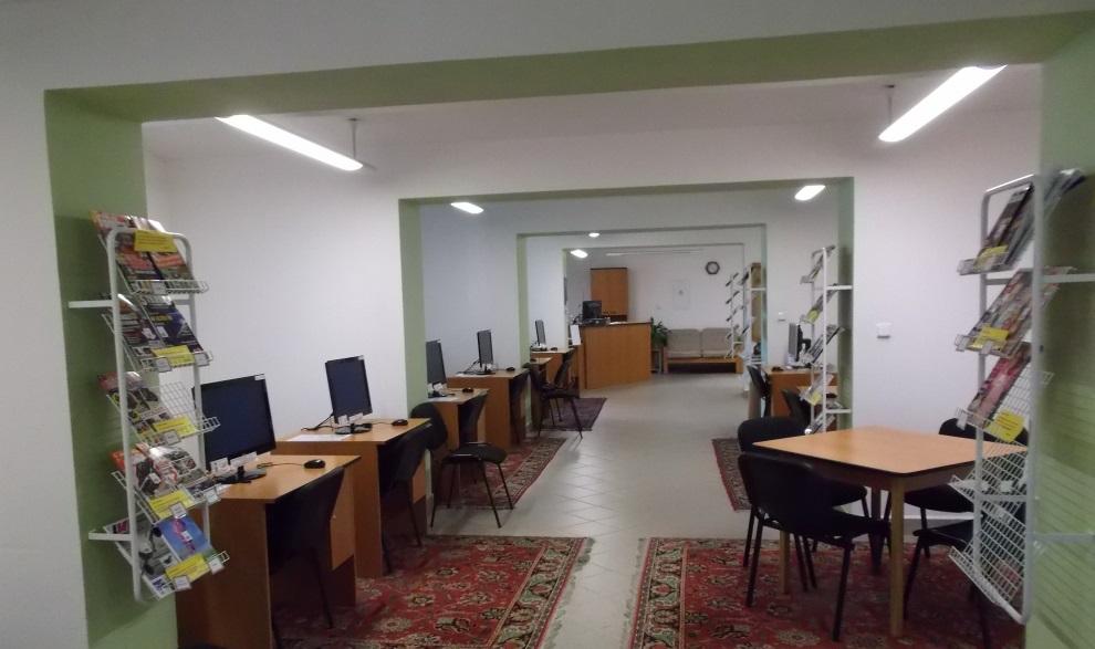 Městská knihovna spojila hudební oddělení s částí internet - čítárna