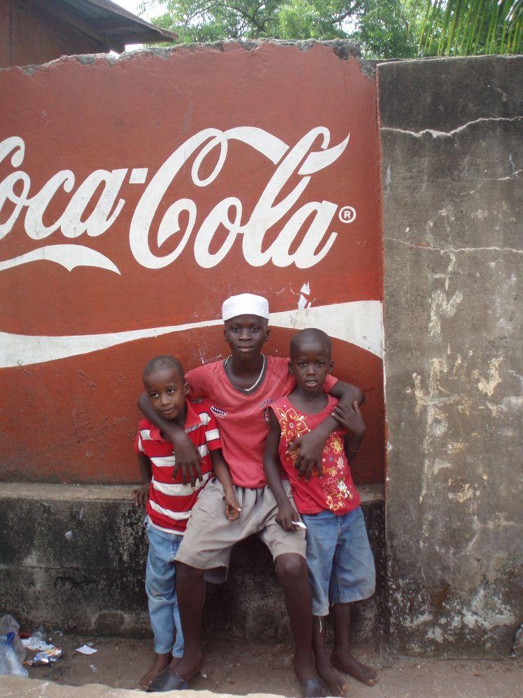 Coca Cola en Guinée