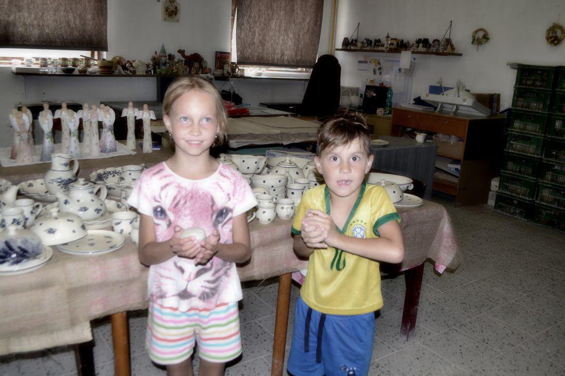 Fotila Amalie: Den otevrenych dveri v Jarosovské keramice