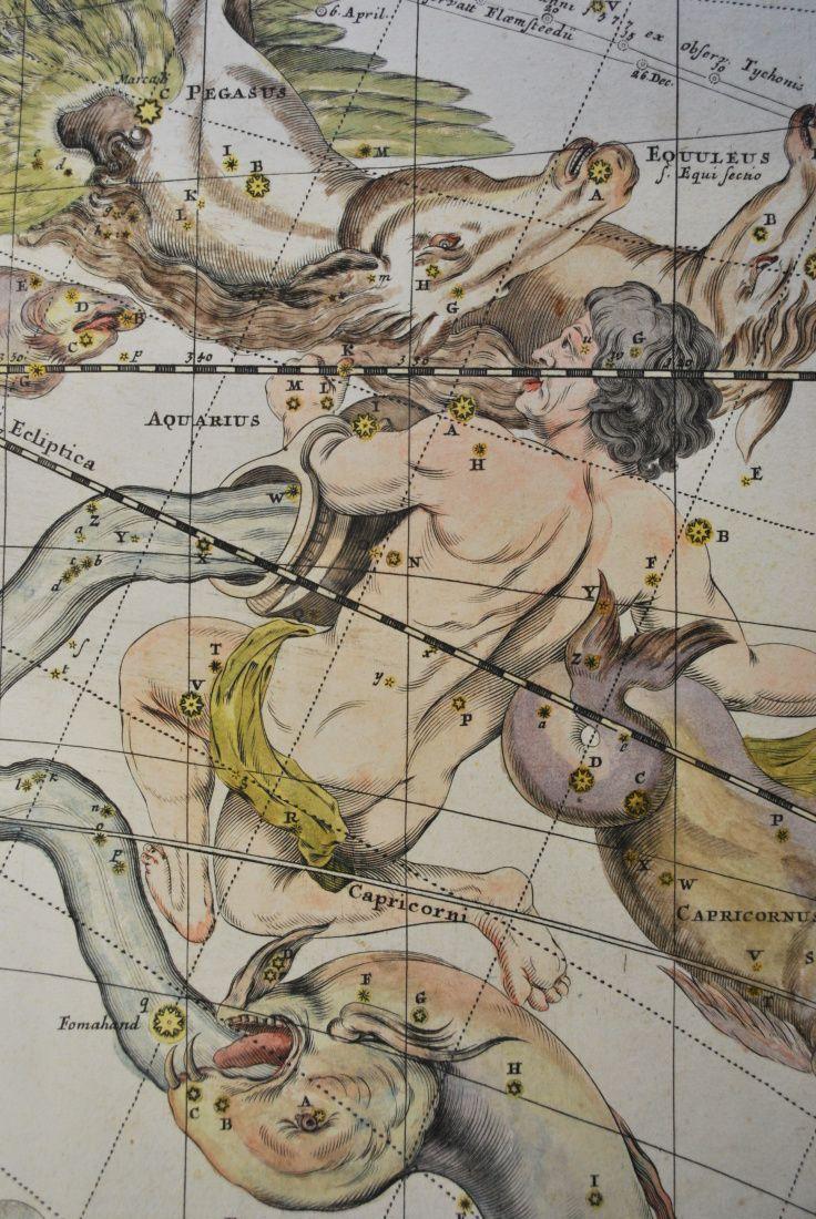Detail vyobrazení souhvězdí