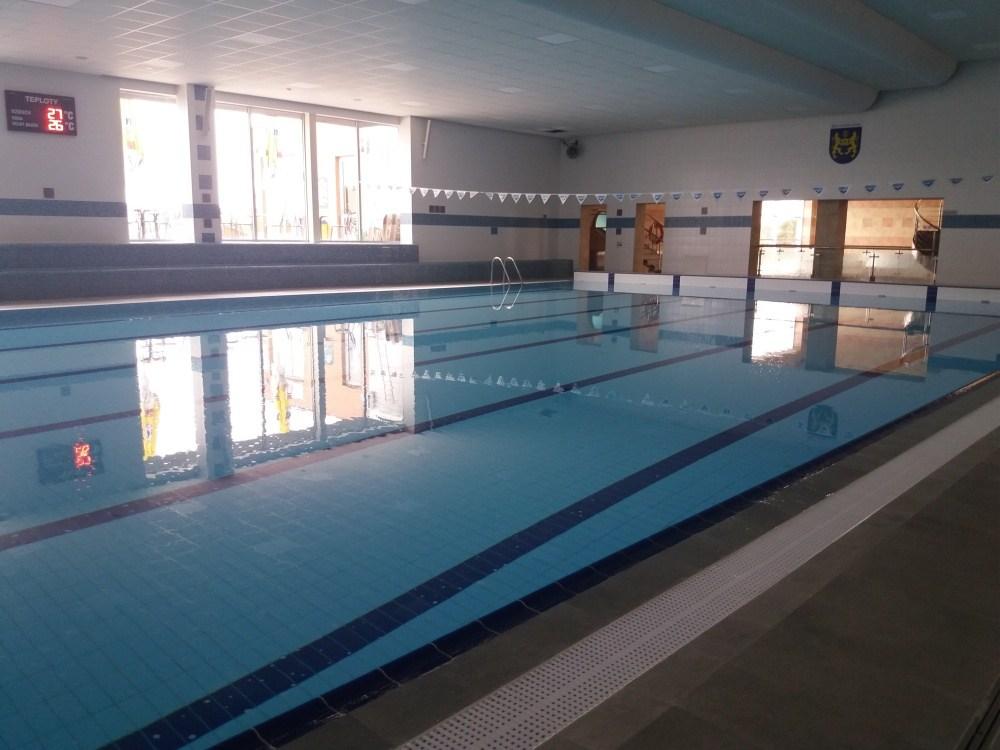 V sobotu bude areál bazénu pro veřejnost uzavřen