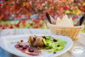 Představení podzimního menu v restauraci Pod Zámkem