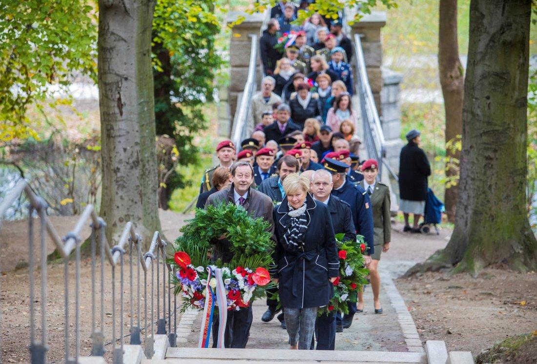 Fotil Martin: Oslavy 100. vyroci republiky v Jindrichove Hradci