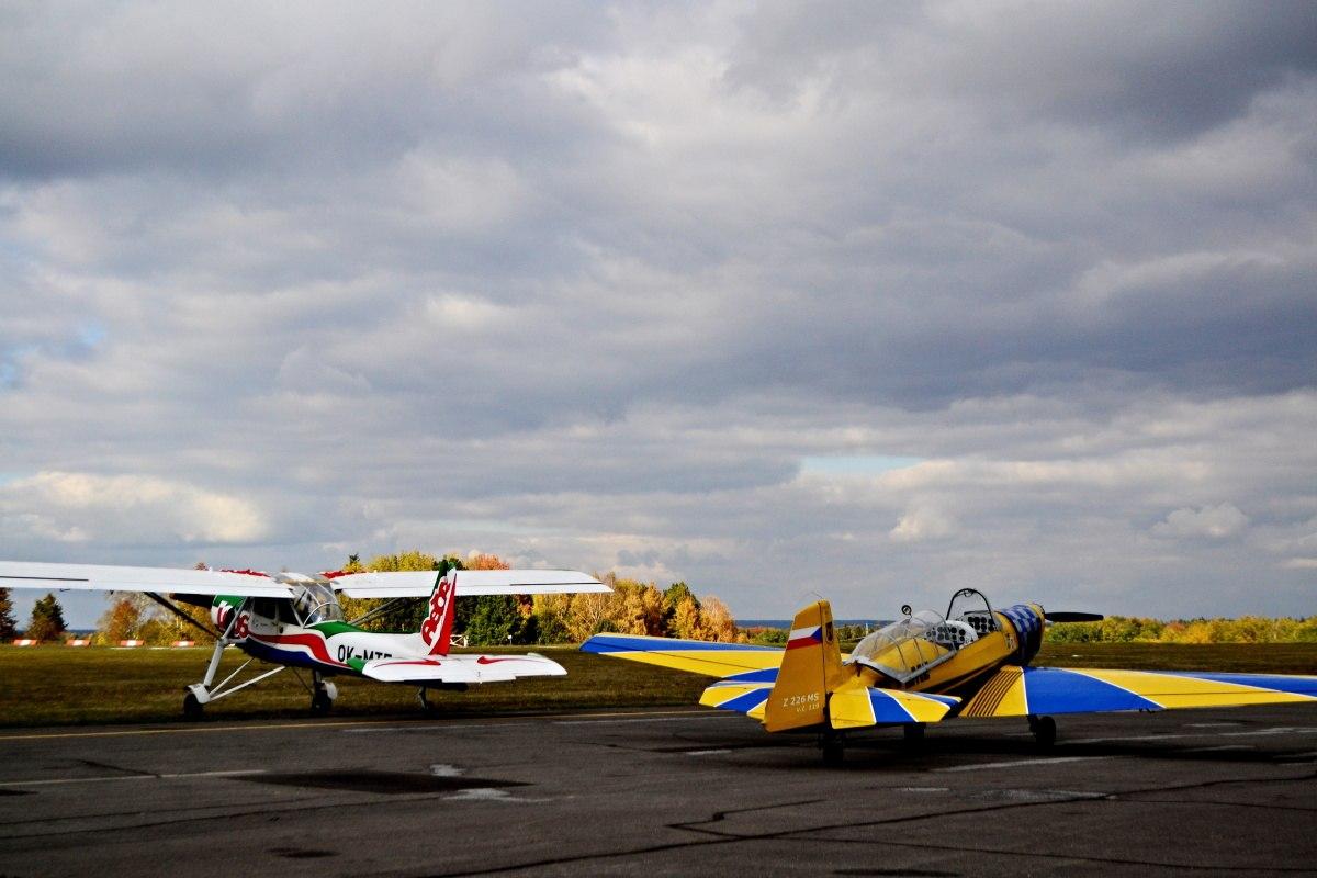 Fotila Amalie: Rijen v Jindrichove Hradci letiště