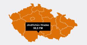 Český rozhlas dnes spustí dva nové FM vysílače pro Jindřichův Hradec a okolí.