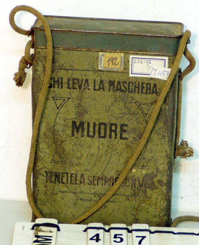 Maschera polivalente ve sbírce Muzea Jindřichohradecka