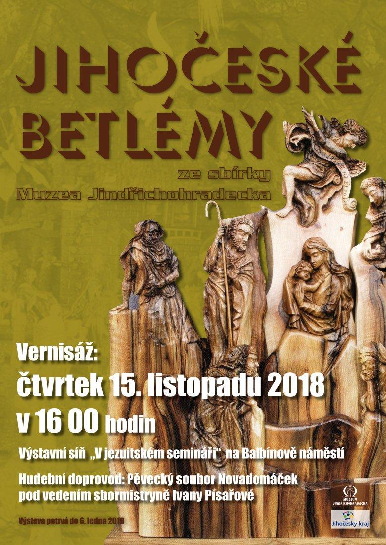 Výstava v J. Hradci poprvé představí největší sbírku jihočeských betlémů