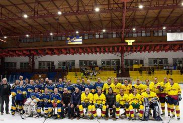 Benefiční zápas ozdobily hokejové i jedna fotbalová hvězda