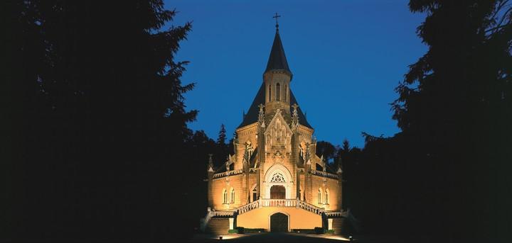 Schwarzenberská Hrobka - nocni