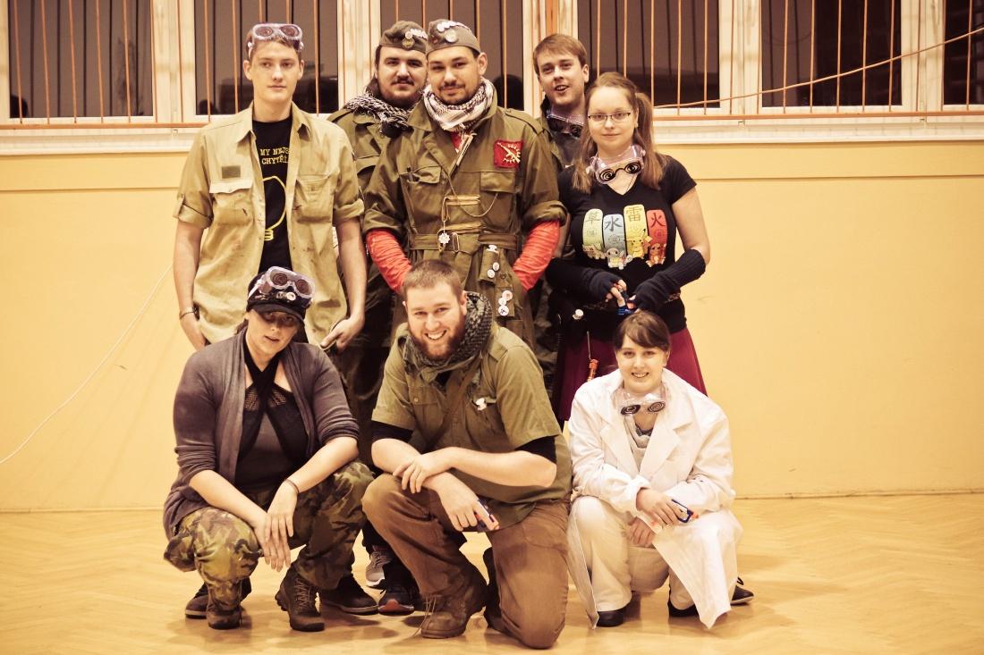 Na začátku prosince proběhla na 4. ZŠ zážitková akční hororová hra Asylum