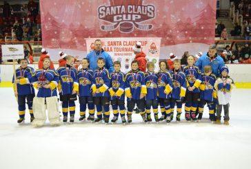Bronzové medaile malých nadějí HC Vajgar z mezinárodního turnaje
