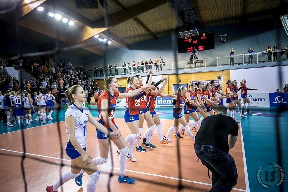 Fotil Lukaš: Sobotni volejbal CR vs. FIN