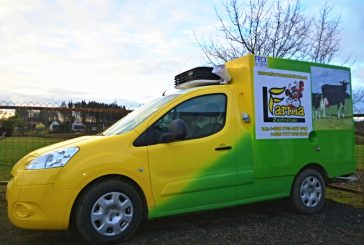 Pojízdná prodejna farmy Zedníček rozváží BIO mléčné výrobky až do domu