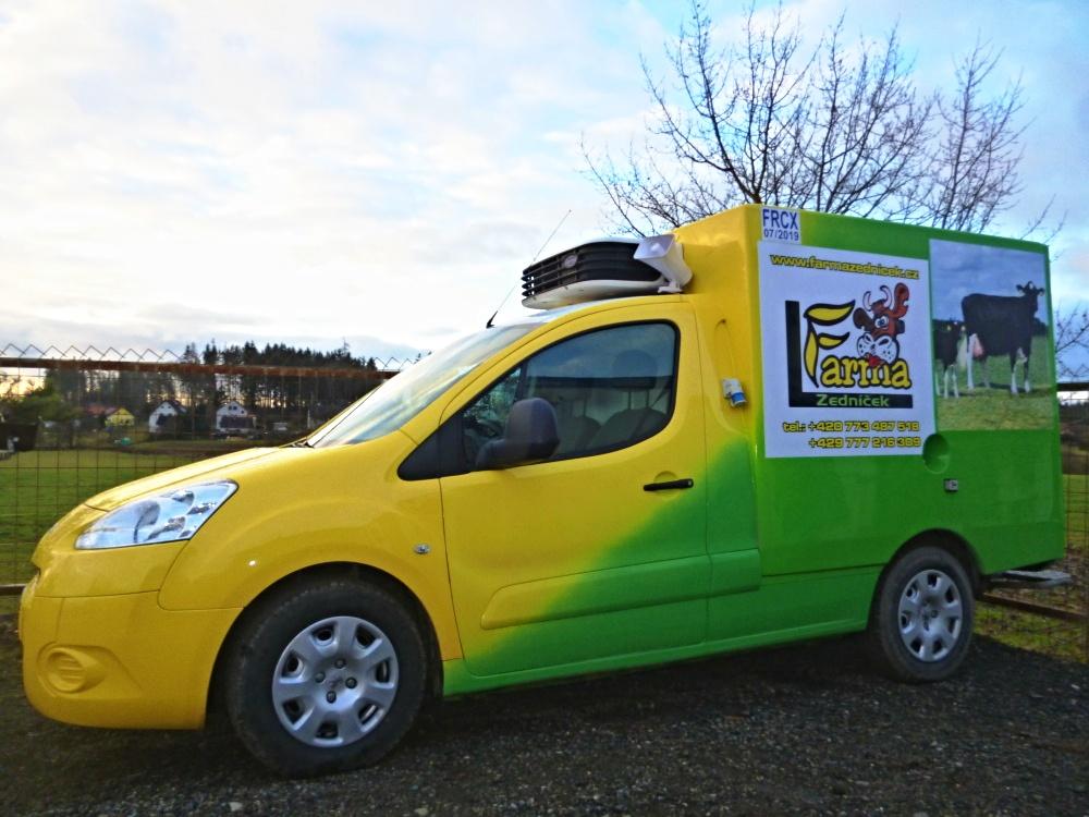 Farma Zedníček rozváží BIO mléčné výrobky až do domu