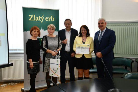 Přebírání ceny Zlatý erb 2019 - Lodhéřov