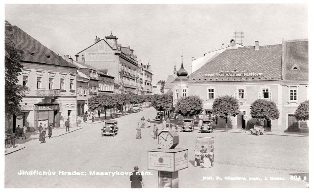Náměstí Míru vedruhé polovině 20. století