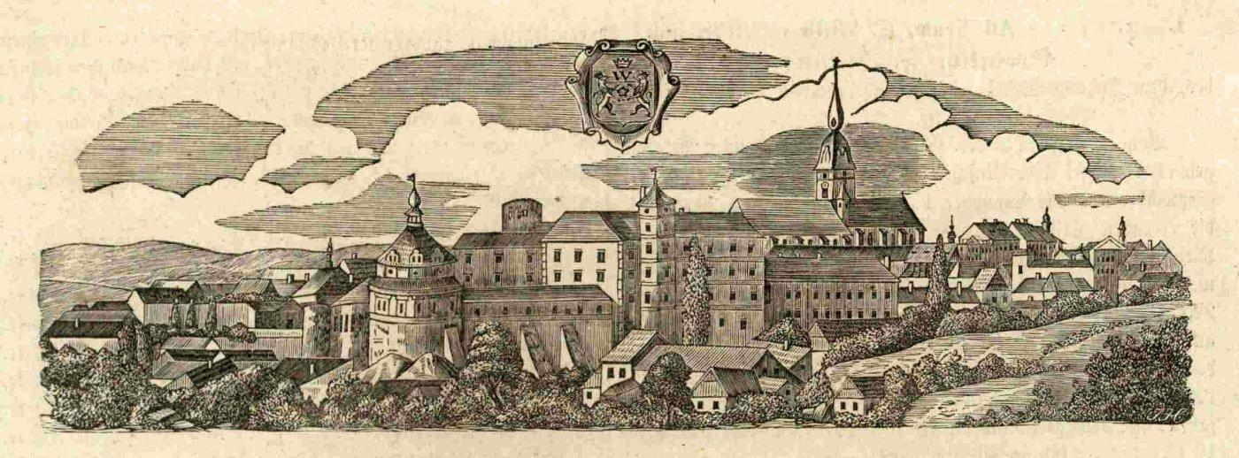 """Kniha """"PROMĚNY SLAVNÉHO MĚSTA PO VELKÉM POŽÁRU 1801"""""""