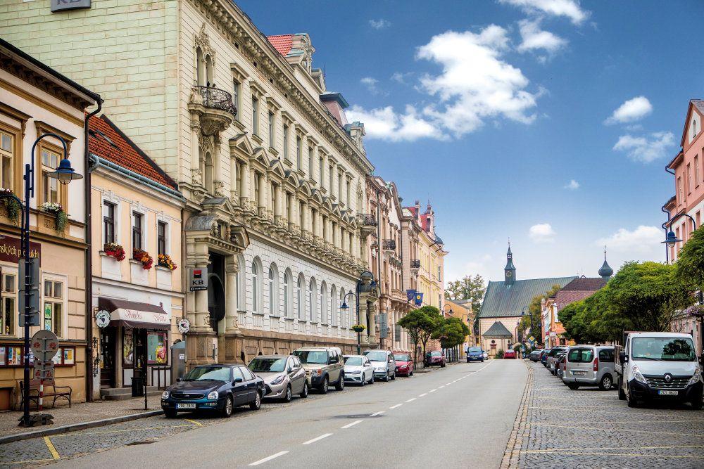 Proměna města I. (Proměny města po požáru 1801 - kapitola první) - Jindřichův Hradec ilustrační