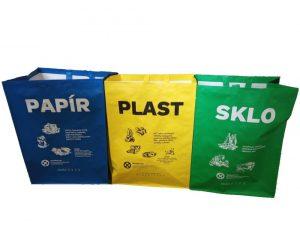 Město zdarma nabízí občanům tašky na tříděný odpad