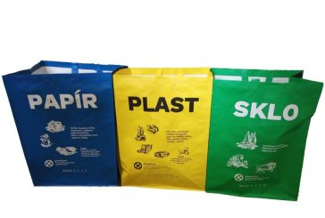 Město zdarma rozdává občanům tašky na tříděný odpad (AKTUÁLNĚ: tašky jsou již rozebrány)