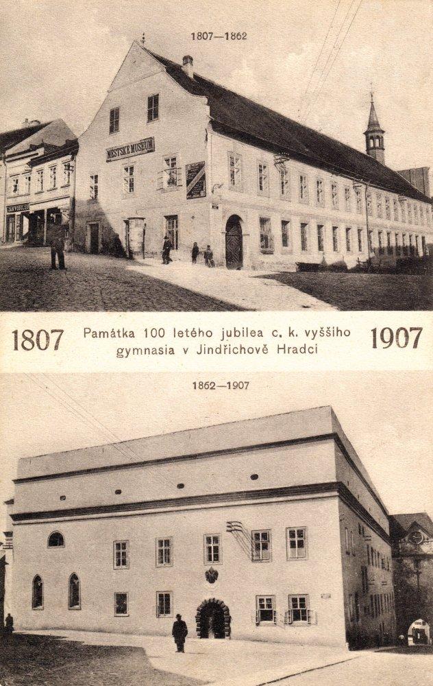 Vjindřichohradeckých školách I. (Proměny města po požáru 1801 – kapitola čtvrtá)