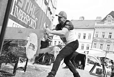 Fotila Amálie: Sobotní dřevorubecká show a Děda Mládek Illegal Band