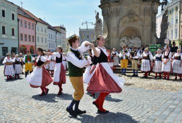 Fotila Eva: Folklorní festival jihočeských souborů v Jindřichově Hradci