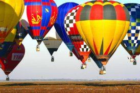 Od středy se budou nad Jindřichovým Hradcem vznášet balóny