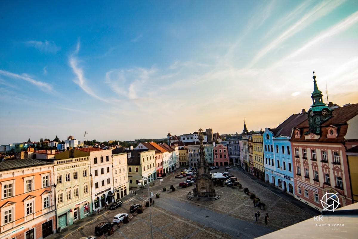 Jindřichův Hradec náměstí Míru - ilustrační