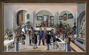 Společenský a kulturní život II. (Proměny města po požáru 1801 – kapitola šestá)