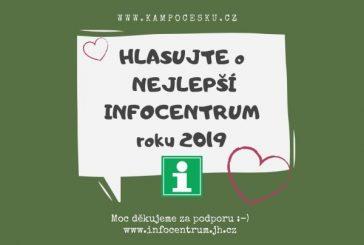 Hlasujte v soutěži o nejlepší infocentrum roku 2019
