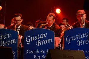 Slavný Rozhlasový big band Gustava Broma zahraje v Jindřichově Hradci