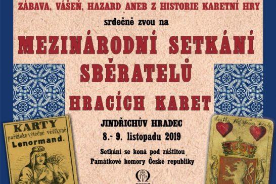 Sběratelé hracích karet se sejdou v Muzeu Jindřichohradecka