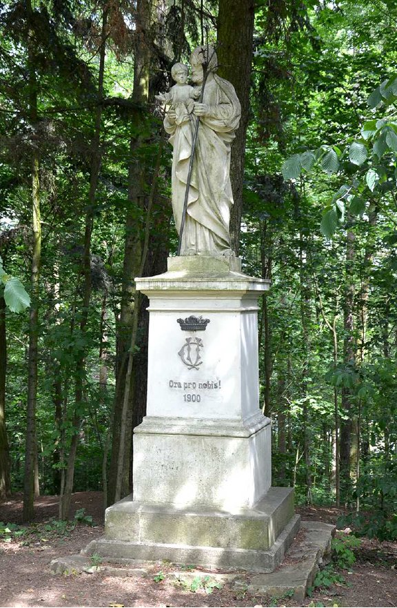 Křížová cesta – část II. (Jindřichohradecké sochy a památníky #5)