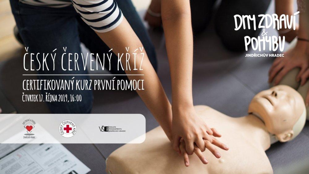 Certifikovaný kurz první pomoci (Dny zdraví a pohybu)