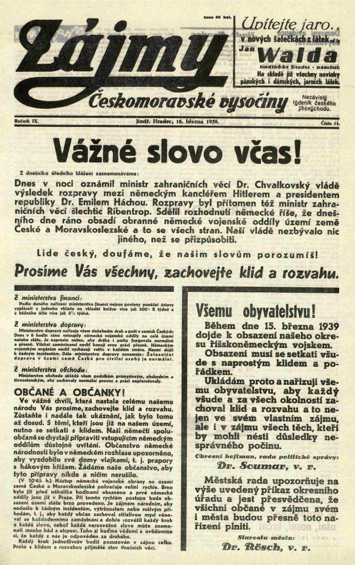 Noviny ačasopisy jako zrcadlo života města I. (Proměny města po požáru 1801 – kapitola desátá)