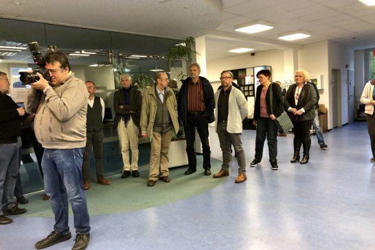 Jindřichohradecká úzkokolejka vystavuje vNeckargemündu
