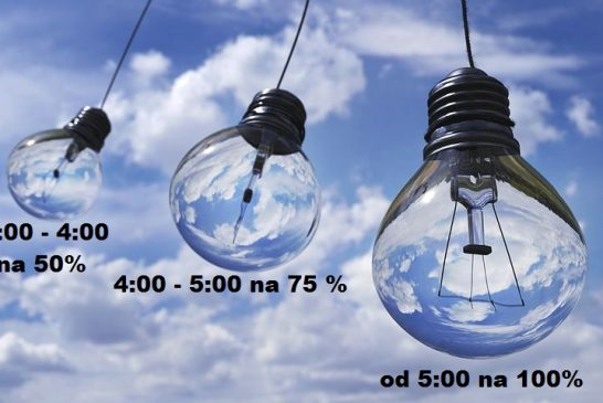 Obnova veřejného osvětlení na sídlišti Vajgar