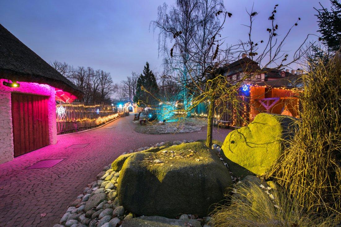 Zoo Hluboká bude vánočně nasvícena