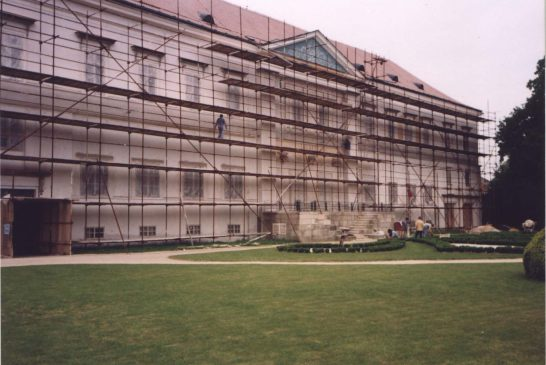 1992 sever-leseni Zámek Dačice