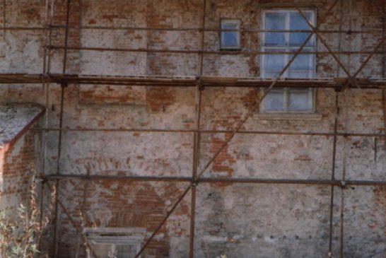 1995 zapad -oblouky- Zámek Dačice