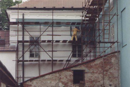 1996 zapad-leseni  Zámek Dačice