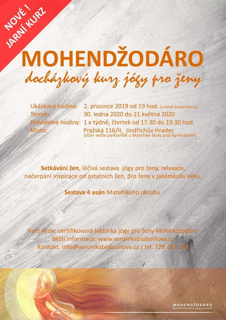 Ve pondělí začínají kurzy jógy pro ženy Mohendžodáro