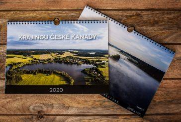 Z projektu Krajinou České Kanady vznikl kalendář z natáčení
