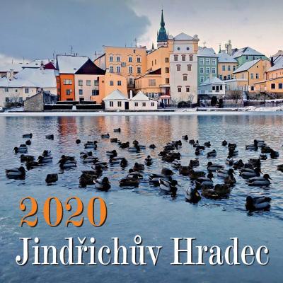 Kalendáře Jindřichova Hradce pro rok 2020 v prodeji