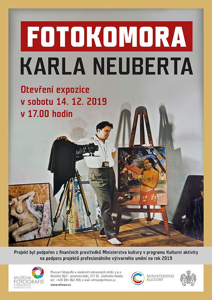 Unikátní expozice Fotokomora Karla Neuberta v Muzeu fotografie a MOM