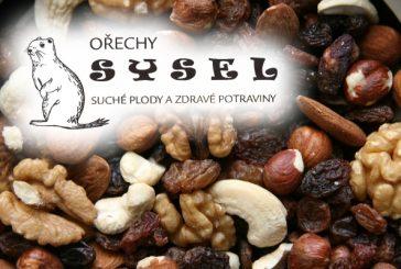 Ořechy SYSEL - suché plody a zdravé potraviny