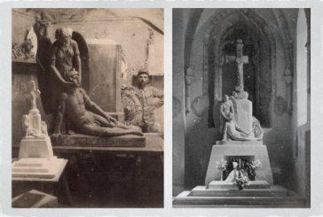 Pomník padlým 75. pluku s křížem od Cebrówa (Jindřichohradecké sochy a památníky #11)